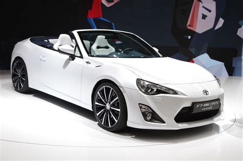 convertible toyota 2017 toyota ft 86 open concept would make a mighty fine droptop