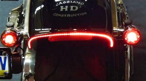 custom tail lights for harley davidson 2013 harley breakout custom designed tail light youtube