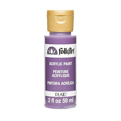 acrylic paint questions folkart 2 oz violet pansy acrylic craft paint k440 the