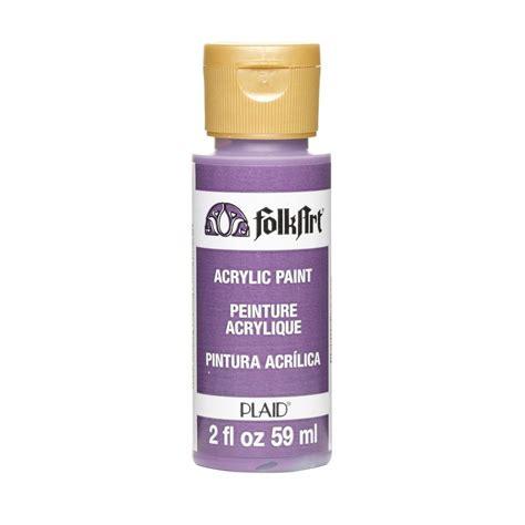 folk acrylic paint ingredients folkart 2 oz violet pansy acrylic craft paint k440 the