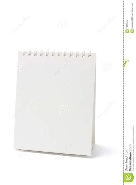 blank desk calendar royalty free stock photo image 7318045