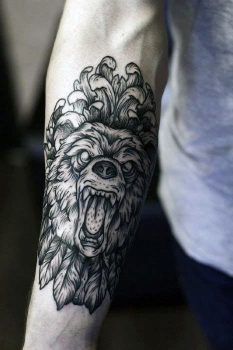 lionk tattoo bali 40 lion forearm tattoos for men manly ink ideas