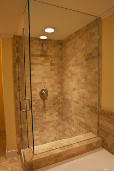 Bathroom Tiled Showers Ideas Tips For A Shower Tub Combination Ideas This For All