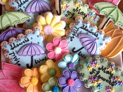 April Showers May Flowers by Busy B Cookies