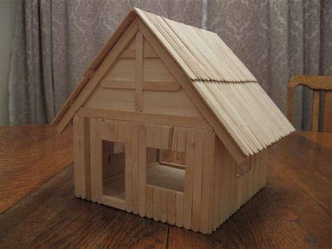 popsicle stick house the gallery for gt popsicle stick house blueprints