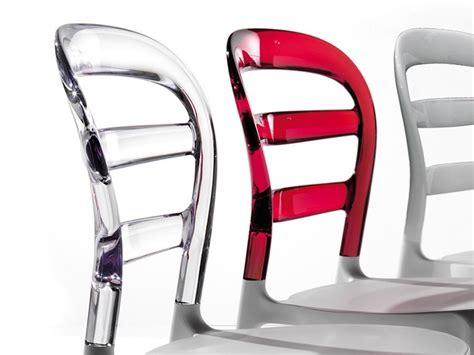 sedia deja vu sedia la seggiola deja v 249 plastica design schienale medio