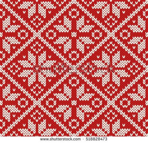 pattern red winter clothes horde knitted texture ornament stock vector 96881722 shutterstock