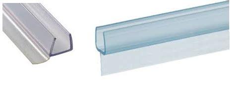 Frameless Shower Door Side Seal Clear Plastic Edge Seals On Frameless Shower Enclosures Showcase Shower Door