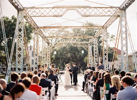 bridge wedding ceremony chic vintage brides chic - Wedding Bridge