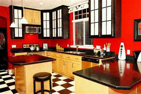 Yellow And Red Kitchen Ideas by Red Black Amp Yellow Kitchen Amazing Furniture Ideas