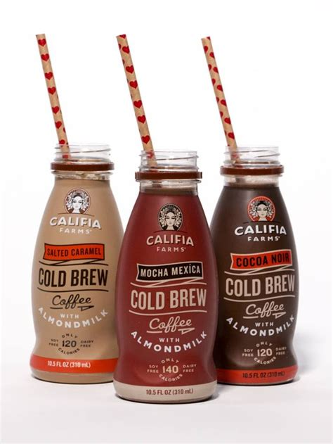 Cold Brew Coffee Black By Bagasta Coffee califia farms cold brew coffee with almond milk review