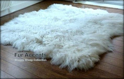 Faux Fur Rug White by Truly Thick White Sheepskin Area Rug 60 X 70 Faux
