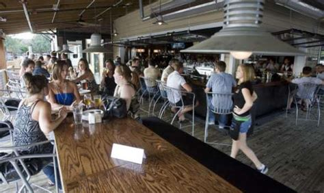 brick house houston restaurants use steots beer bongs to stand out houston chronicle