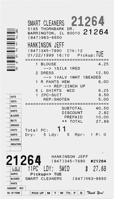 thermal printer receipt template take a look at our easy to learn and easy to use key table