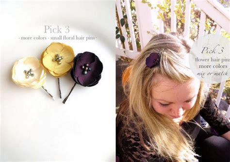 Wedding Hair Flowers Small by 3 Bridal Hair Flower Hair Pins For Wedding Small