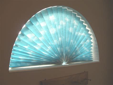 Paper Shades For Windows Decorating Arch Paper Window Shade Window Treatments Design Ideas