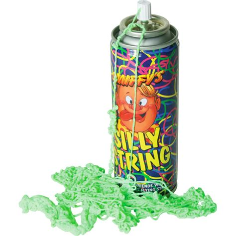 Silly String - the most popular toys from the 1970 s