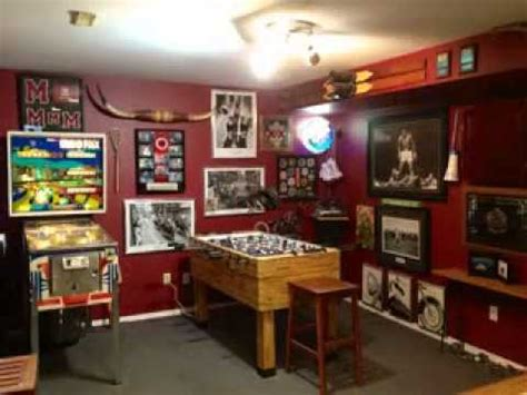 Affordable Home Decor by Man Cave Decorating Ideas Youtube