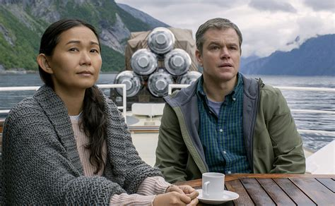 downsizing movie downsizing movie review alexander payne delivers one of