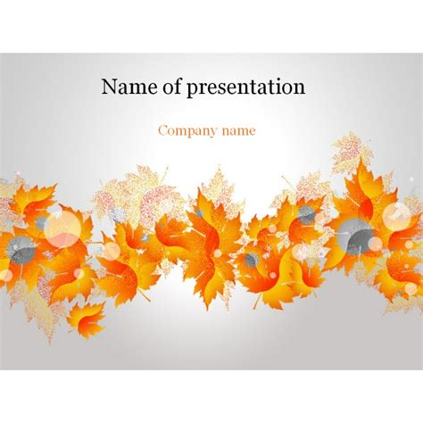 fall powerpoint templates fall powerpoint templates pictures to pin on