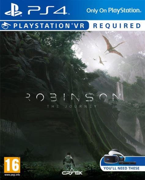 Ps4 Robinson The Journey robinson the journey playstation