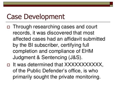 Bellingham Municipal Court Records Whatcom County Electronic Home Monitoring Investigation