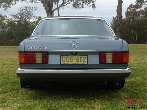 mercedes nsw 1985 mercedes 380sel in nsw