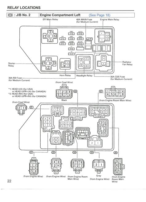 2003 Camry Engine Cooling System Diagram