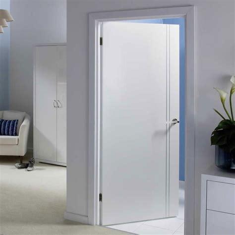 Sierra Blanco White Painted Flush Door