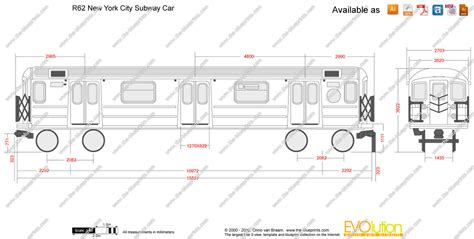 The Blueprints Com Vector Drawing R62 New York City Nyc Subway Coloring Page