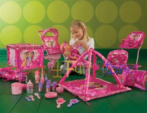 baby doll swing set girls play baby doll huge set of doll furniture