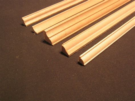 doll house trim crown molding 2 dollhouse miniature basswood trim 6pc 1 12 scale cornice mw12022 ebay