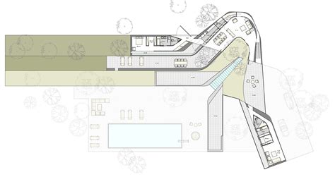 the curve floor plan curve marc medland architect
