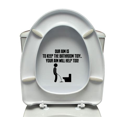 funny bathroom decals etsy your place to buy and sell all things handmade