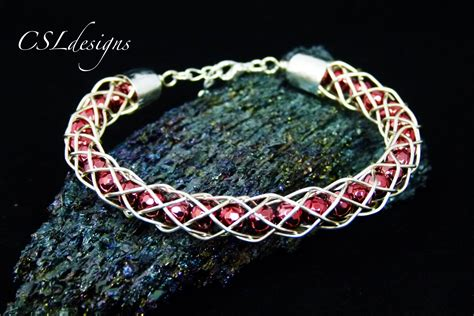 Hollow wirework kumihimo bracelet   YouTube
