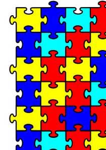 Autism Puzzle Template by Autism Puzzle Clip Cliparts Co
