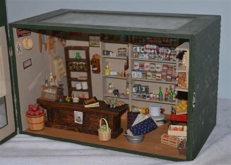 dollhouse store wonderful doll miniature dollhouse general store filled w