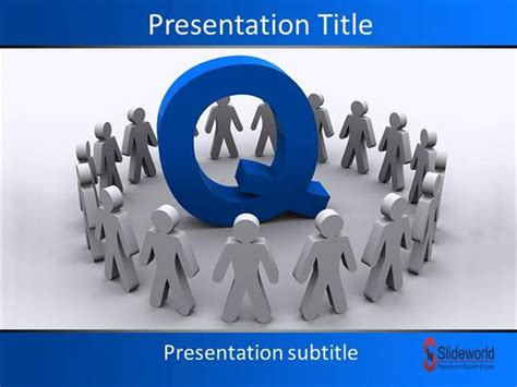 free powerpoint templates for quality control quality team powerpoint template