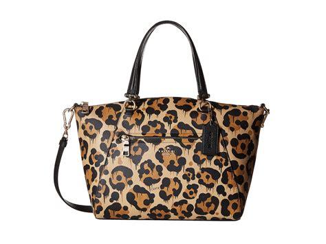 Coach Ocelot Prairie City Zip Tote coach leopard ocelot print leather prairie satchel lyst
