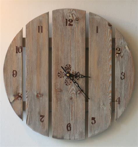 Handmade Clocks Wood - handmade wooden clock clocks