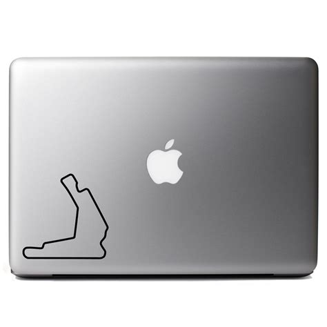 track st pete honda of st petersburg track map vinyl sticker laptop decal
