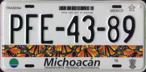 diseo de las nuevas placas de michoacan actualizado placas patentes de autos de tu pais page