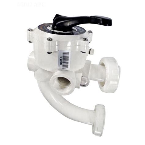 Multiport Valve pentair 1 5 quot multiport backwash valve for triton sand pool