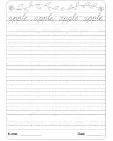 english cursive handwriting worksheets pdf cursive