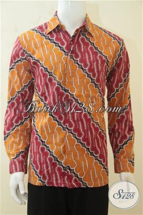 desain baju batik yang keren hem batik parang masa kini desain warna cerah yang sangat