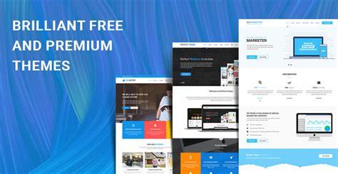 themes wordpress free premium 10 brilliant free and premium themes of wordpress for your