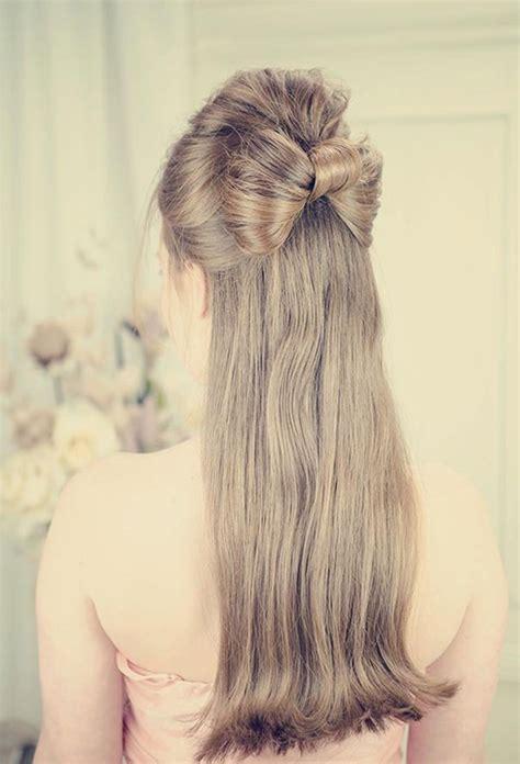 wedding hairstyles half up half down medium length best medium hairstyle half up half down wedding
