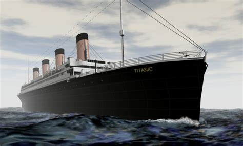 titanic boat scene script titanic 3d model sharecg