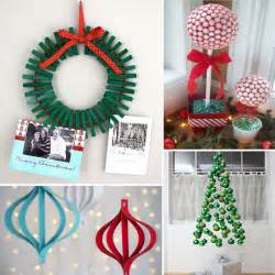 Diy Christmas Decorating Ideas Home by Diy Christmas Decorations Kids Will Love Popsugar Moms