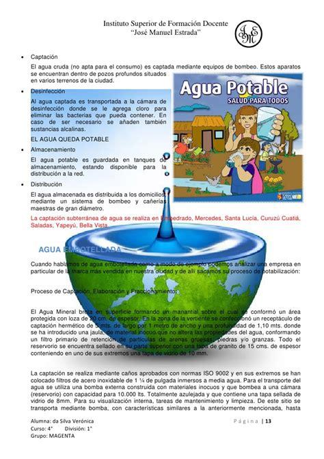 agua embotellada o del grifo agua potable de grifo o embotellada